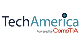 TechAmerica powered by CompTIA Logo